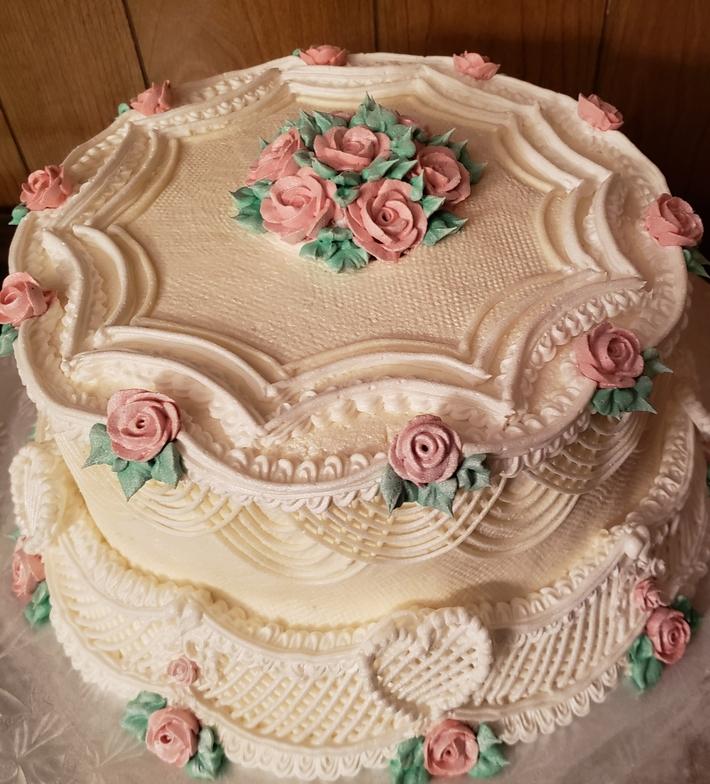 simple Lambeth cake