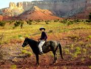 Horseback at Ghost Ranch