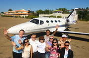 VIP Jets team departing Heho