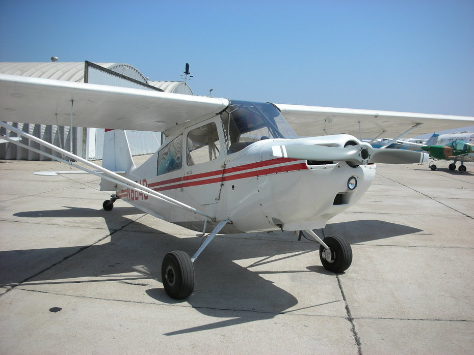 Taking Possession of my first aircraft, Brown Field