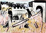 drumul crucii o alta viziune despre suferinta lui Hristos imagine prelucrata Alexandru Ispas