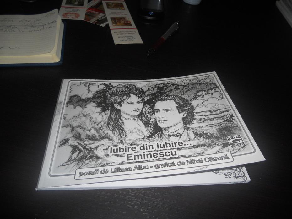 cartea de poezie si grafica eminesciana
