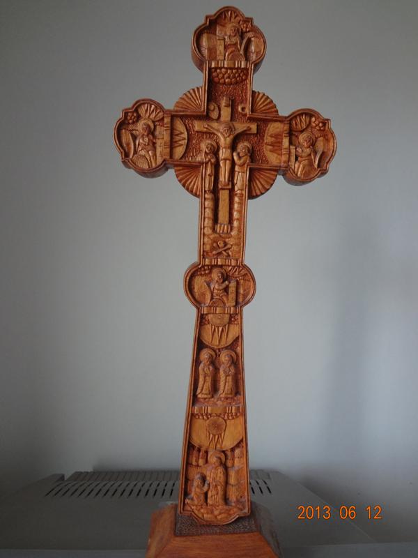 sculptură în lemn 1