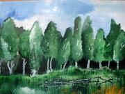 David Alexandru (8 ani) - pictură