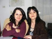 Eu și prietena mea, Gina Zaharia