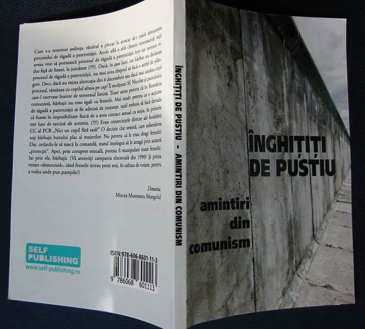 """""""Înghițiți de pustiu"""" (amintiri din comunism) - volum colectiv (Ion Lazăr da Coza, coautor)"""