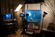 my small studio in LA