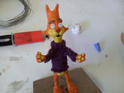 Puppet making practice