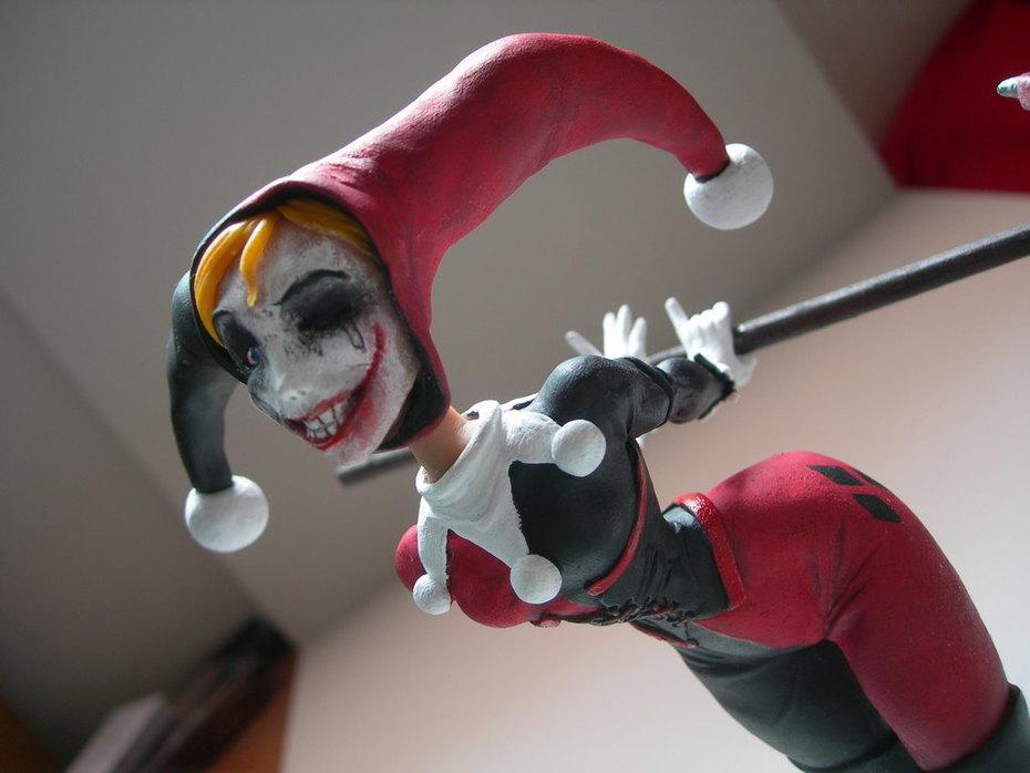 Harley sculpture