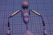 simple wire armature upper body