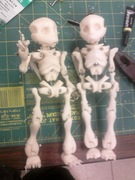 3D Printed Puppets