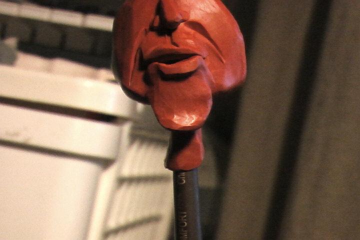 mouth on a stick
