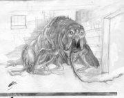 Blob-Rat Creature Design