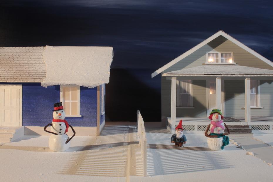 """Set for """"Christmas Comes"""""""