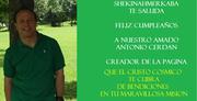 FELIZ CUMPLEAÑOS ANTONIO CERDAN CREADOR DE LA PAGINA