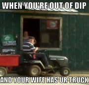 Out of dip lolz