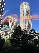 Boston Skyline Art Installation