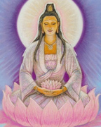 Lady Quan Yin & The Lavender Flame