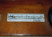 Båtar från Marieholms Bruk