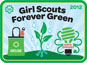 Girl Scouts Forever Green
