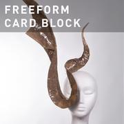 D46 - FREEFORM CARD BLOCK