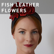G17 - FISH LEATHER FLOWERS