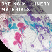 D15 - DYEING MILLINERY MATERIALS