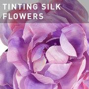 42 - TINTING SILK FLOWERS