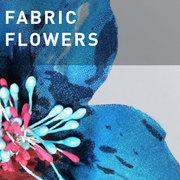 37 - FABRIC FLOWERS