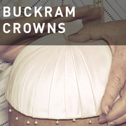 17 - BUCKRAM CROWNS
