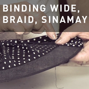 04 - BINDING WIDE, BRAID, SINAMAY