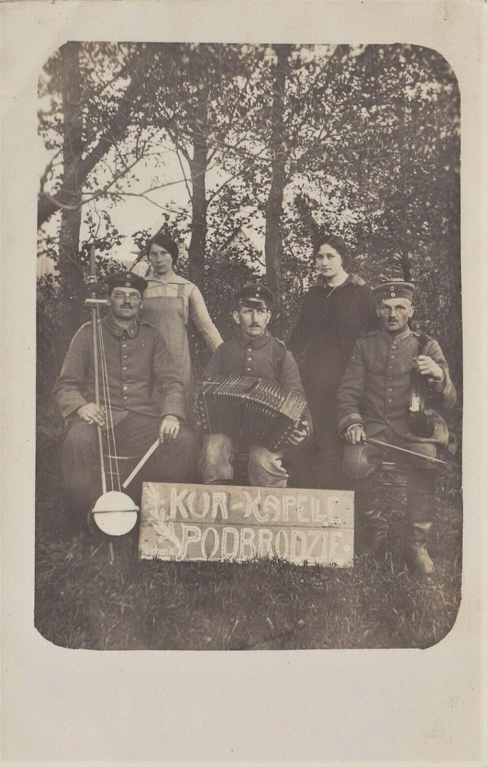 Podbrozie (Podbrzezie) Lithuania 1917