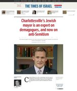 Charlottesville Mayor is Jewish