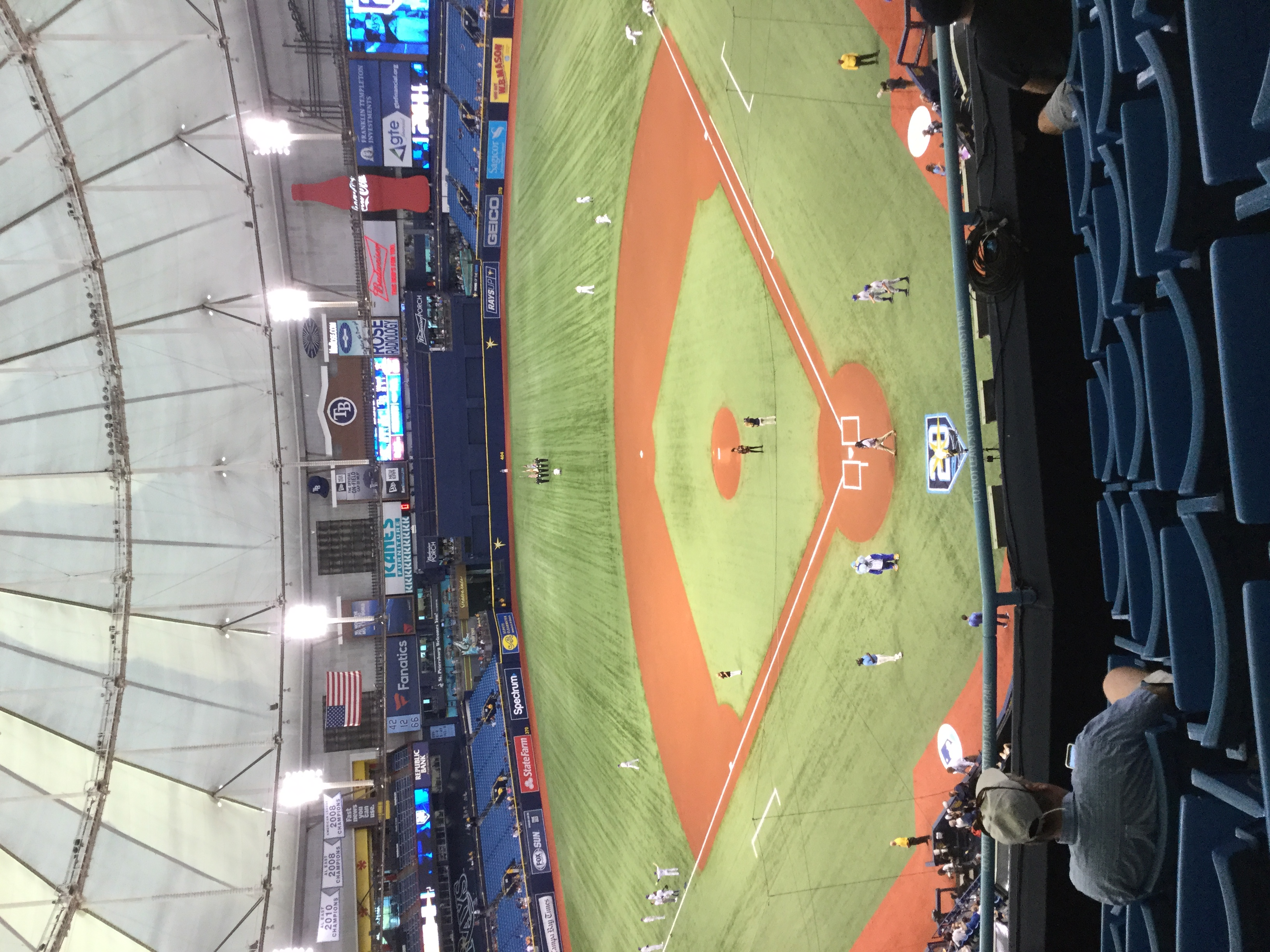 My view at the Trop