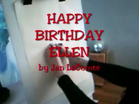 Ellen birthday