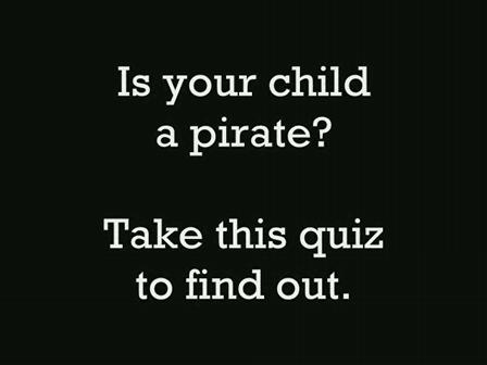 The Pirate Quiz
