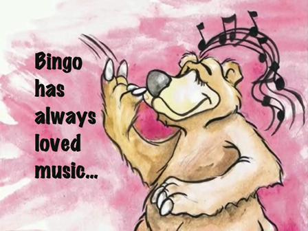Bingo the Banjo Picking Bear