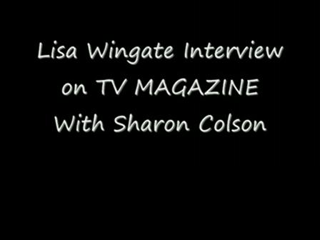 Lisa Wingate Interview on TV Magazine video