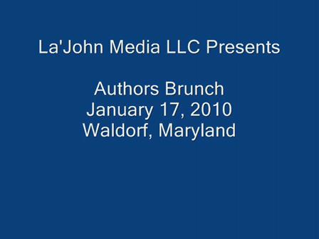 La'John Media Presents Author's Brunch Series January 2010