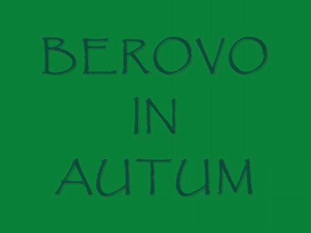 BEROVO IN AUTUM