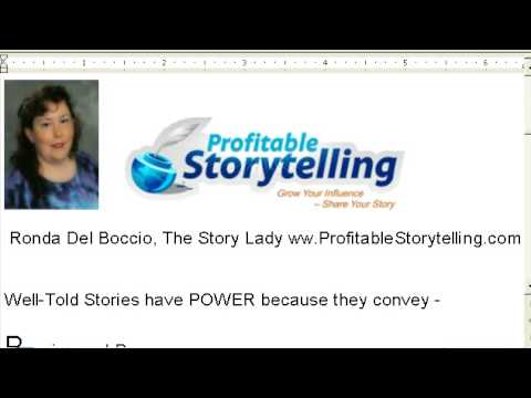 Everyday Events = Storytelling for Business www.ProfitableStorytelling.com