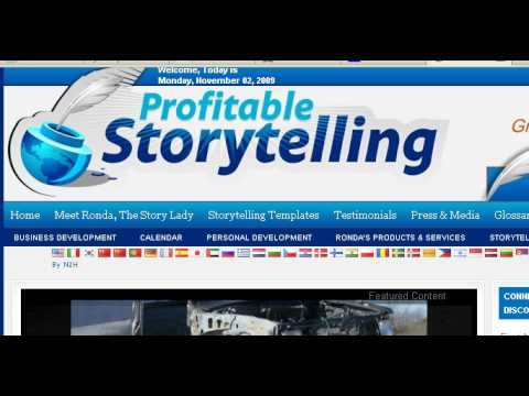Hero's Journey storytelling for Business Ronda Del Boccio The Story Lady