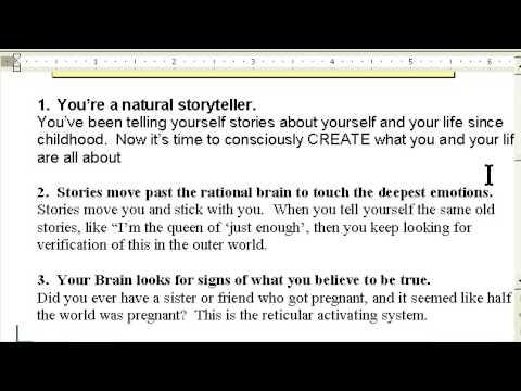 You, a storyteller storytelling success w/ The Story Lady www.ProfitableStorytelling.com