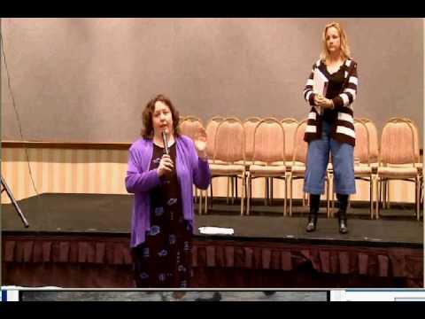 Transformational Speaker Ronda Del Boccio The Story Lady on Balance www.ProfitableStorytelling.com
