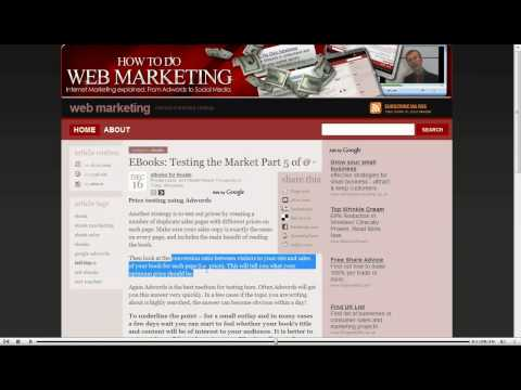 EBooks: Testing the Market Part 5 of 6