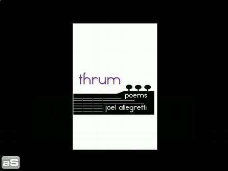Book Trailer: THRUM by Joel Allegretti