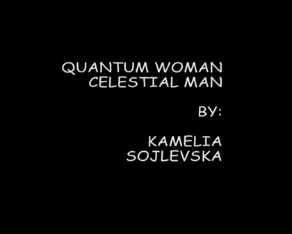 Book trailer QUANTUM WOMAN CELESTIAL MAN 1