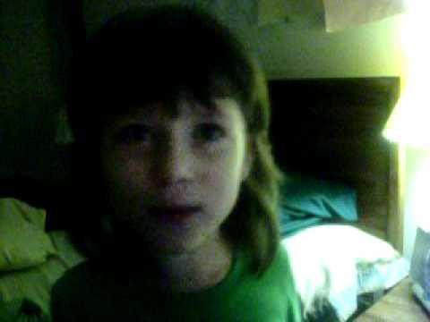 My Daughter sings Cherry Bomb