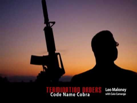 Termination Orders: Code Name Cobra book video trailer