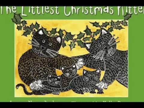 The Littlest Christmas Kitten book trailer